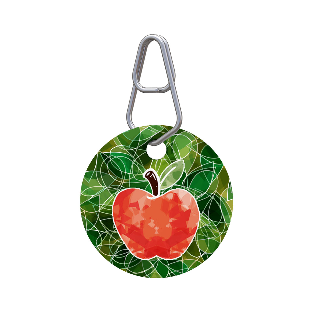 Harvest Apple Pet ID Tag