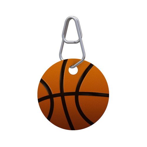 Basketball Pet ID Tag