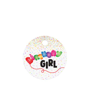 Birthday Girl Pet ID Tag