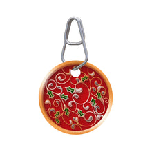 Christmas Ornament Pet ID Tag