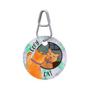 Copy Cat Pet ID Tag