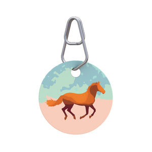 Equine Friend Pet ID Tag