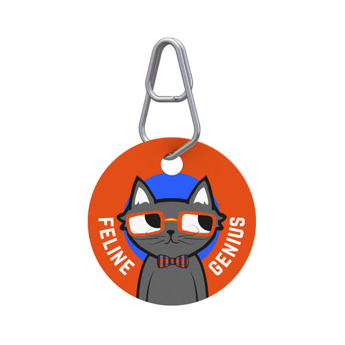 Feline Genius Pet ID Tag