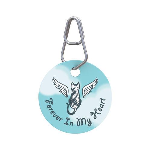 Forever in My Heart—Cat Pet ID Tag