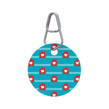 Hearts at Home Pet ID Tag