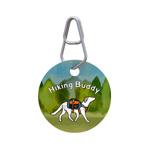 Hiking Buddy Pet ID Tag