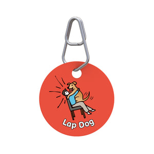 Lap Dog Pet ID Tag