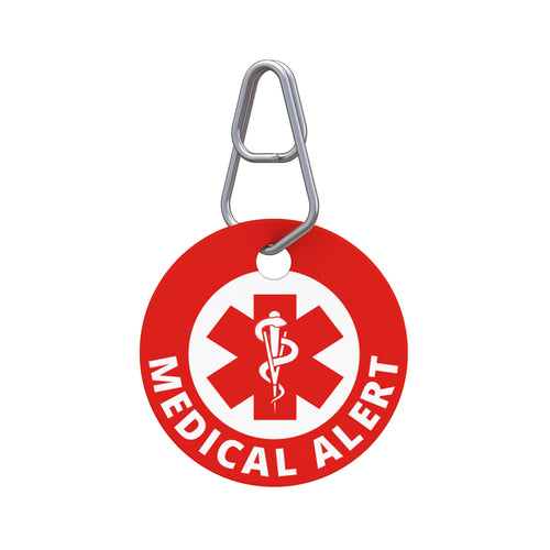 Medical Alert—To Customize Pet ID Tag