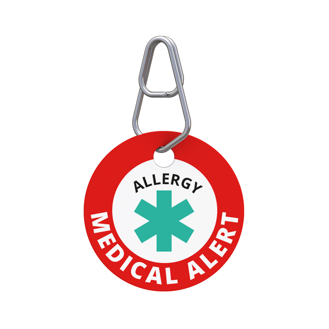 Medical Alert—Allergy Pet ID Tag