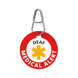 Medical Alert—Deaf Pet ID Tag