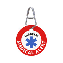 Medical Alert—Diabetes Pet ID Tag
