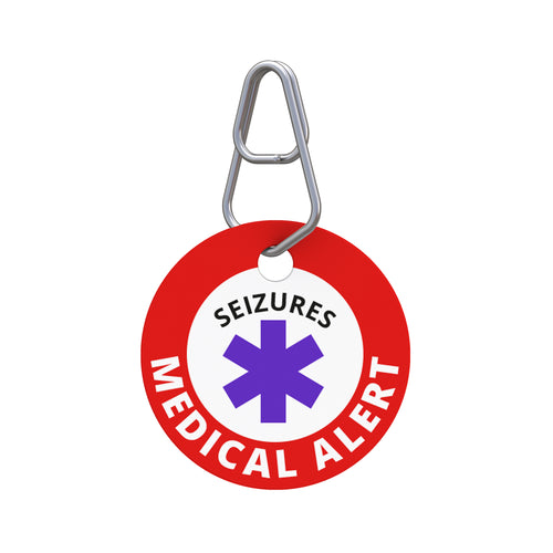 Medical Alert—Seizures Pet ID Tag