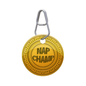 Nap Champ Pet ID Tag