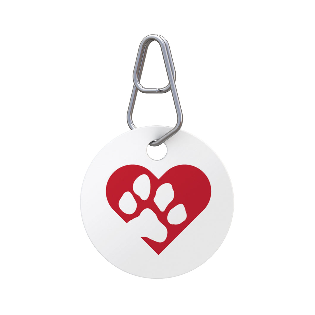 Big Heart Pet ID Tag