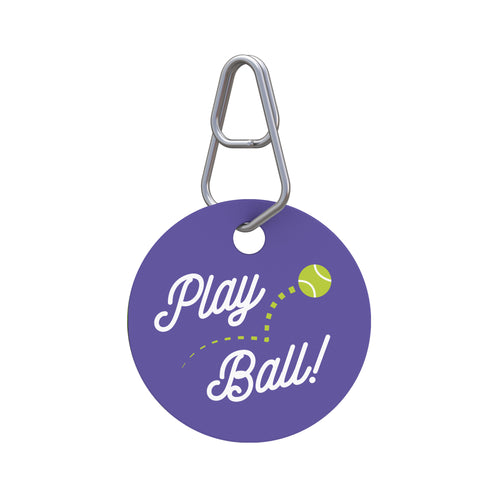 Play Ball! Pet ID Tag