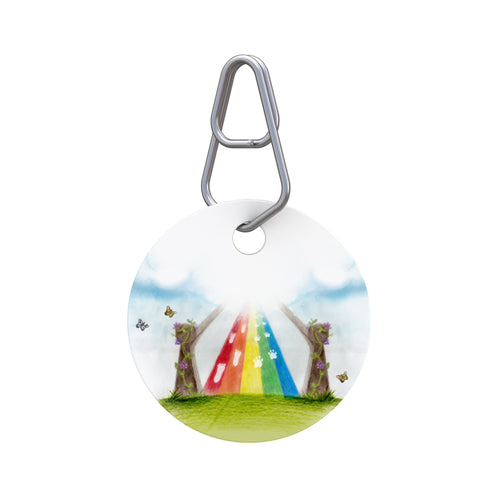 Rainbow Bridge Pet Tag