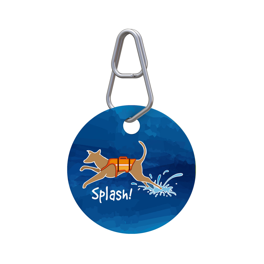 Splash Pet ID Tag