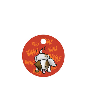 Tail Wagger Pet ID Tag