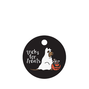 Tricks for Treats Pet ID Tag