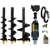 Digga PDX auger drive combo package mini excavator up to 2T
