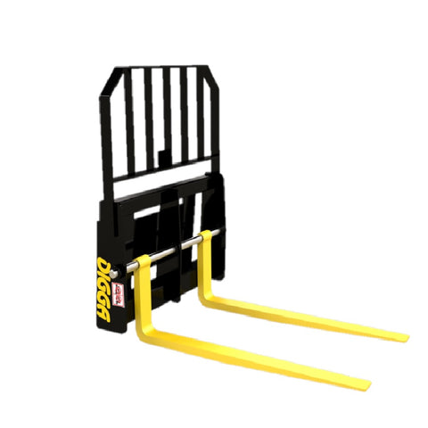 Digga Pallet Forks for Mini Loaders Dingo, Kanga, Toro, Vermeer etc