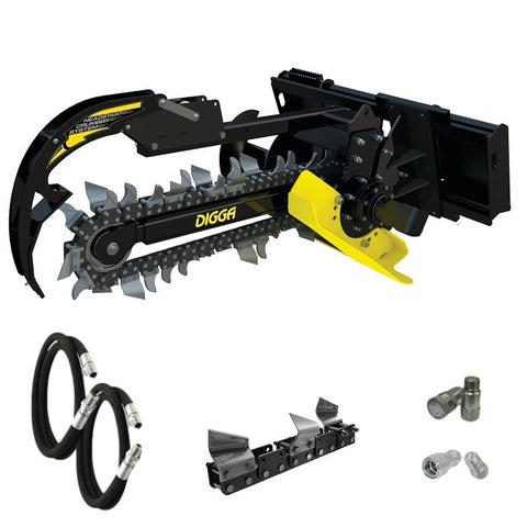 Digga Bigfoot Trencher 900mm for Skid Steer Loaders up to 4.5T
