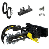 Digga Bigfoot XD Trencher 900mm and 1200mm for Skid Steer Loaders up to 8T