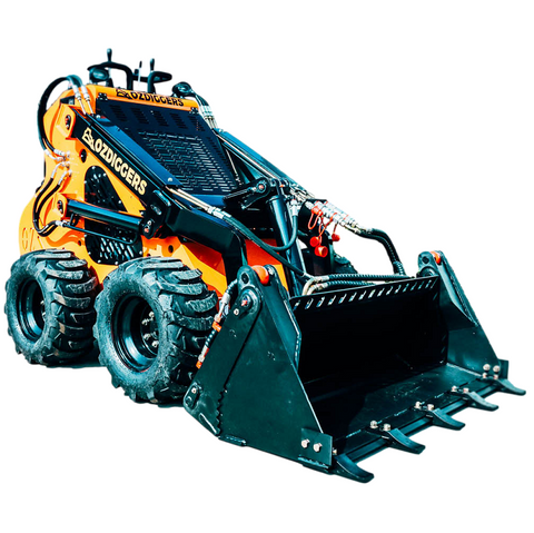 OD-123W Wheeled Petrol Mini Loader