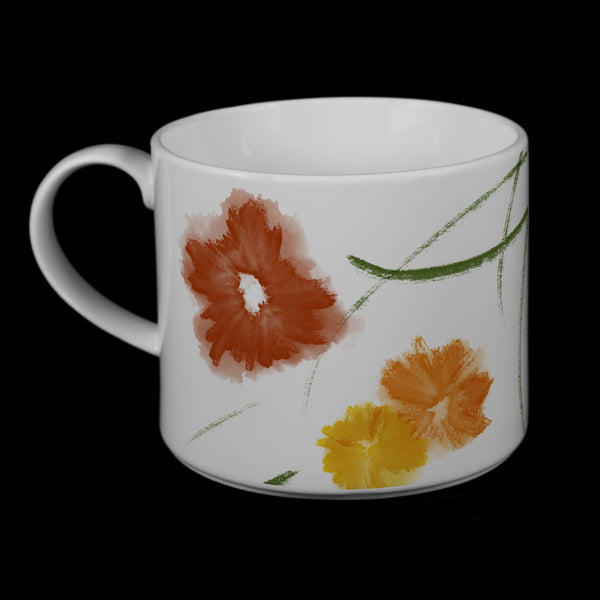 "Porcelain Mug featuring ""Floriglee"" Artwork  Porcelain Mugs- The French Press Coffee Company"