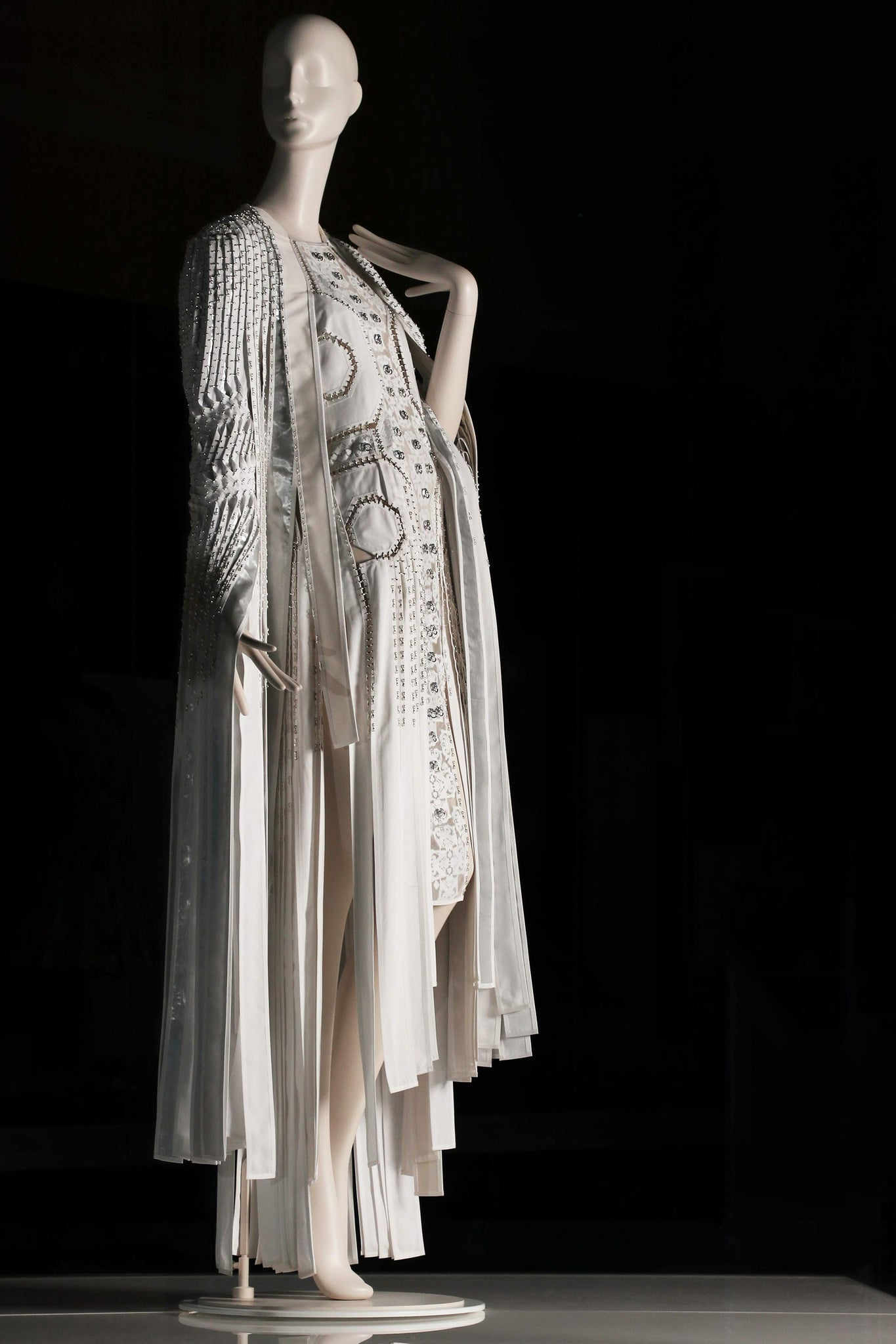 The Florentine Dress on display at The National Museum of Scotland