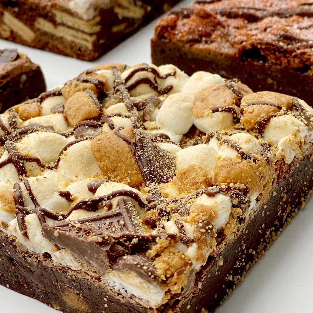BROWNIE THERAPY: LOADED S'MORES