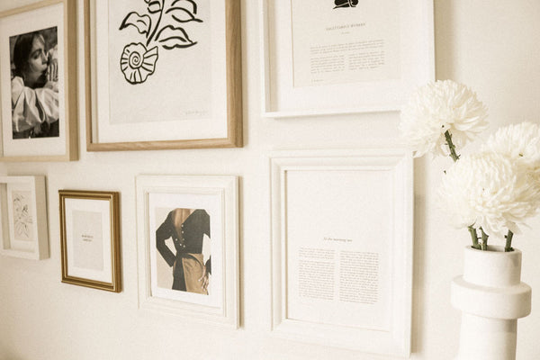 how to hang a frame wall