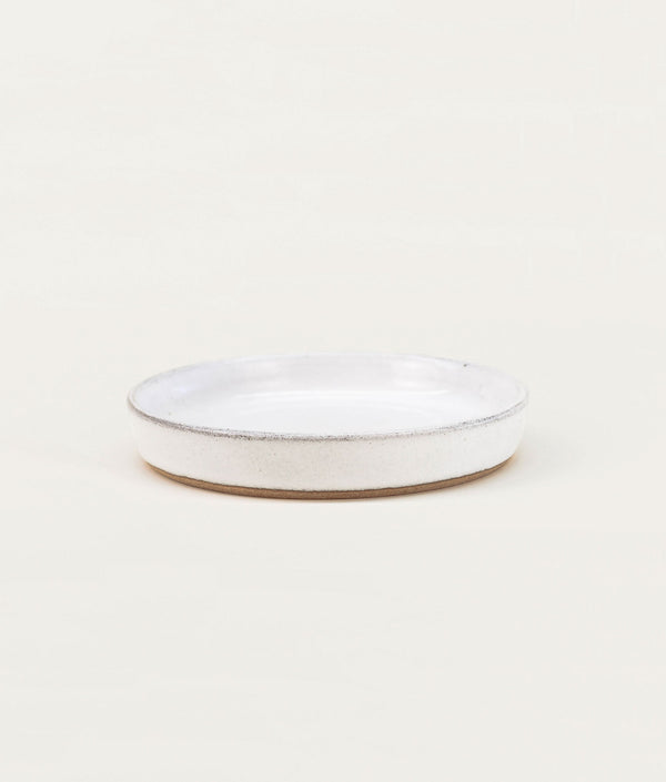 Putu Plate Brushed White
