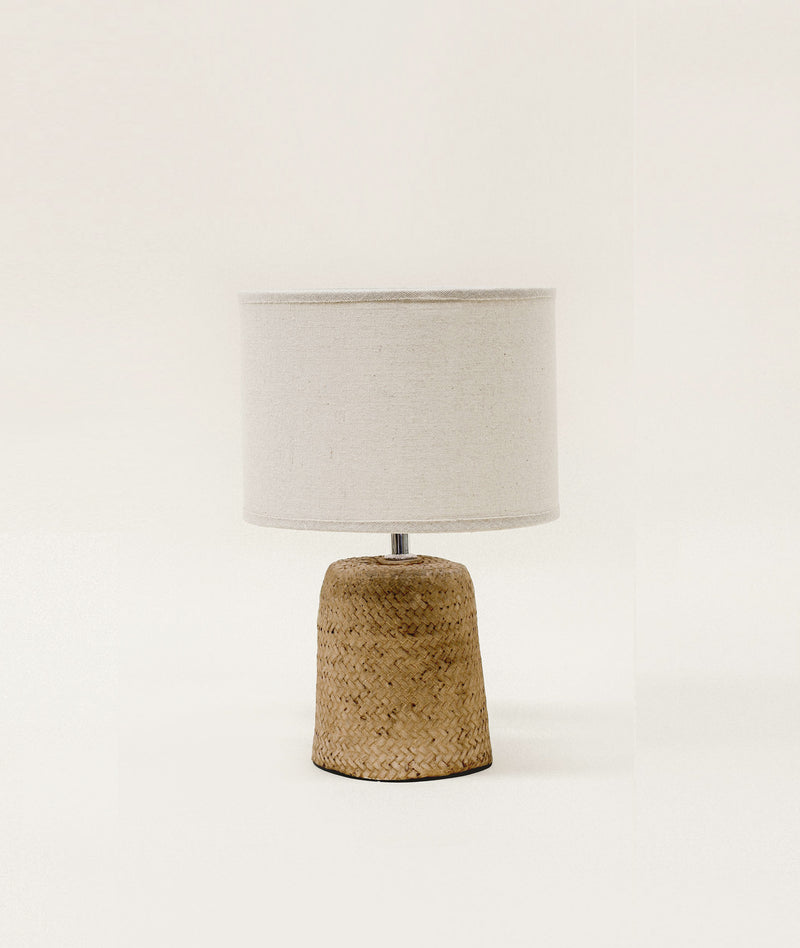Woven Table Lamp Small