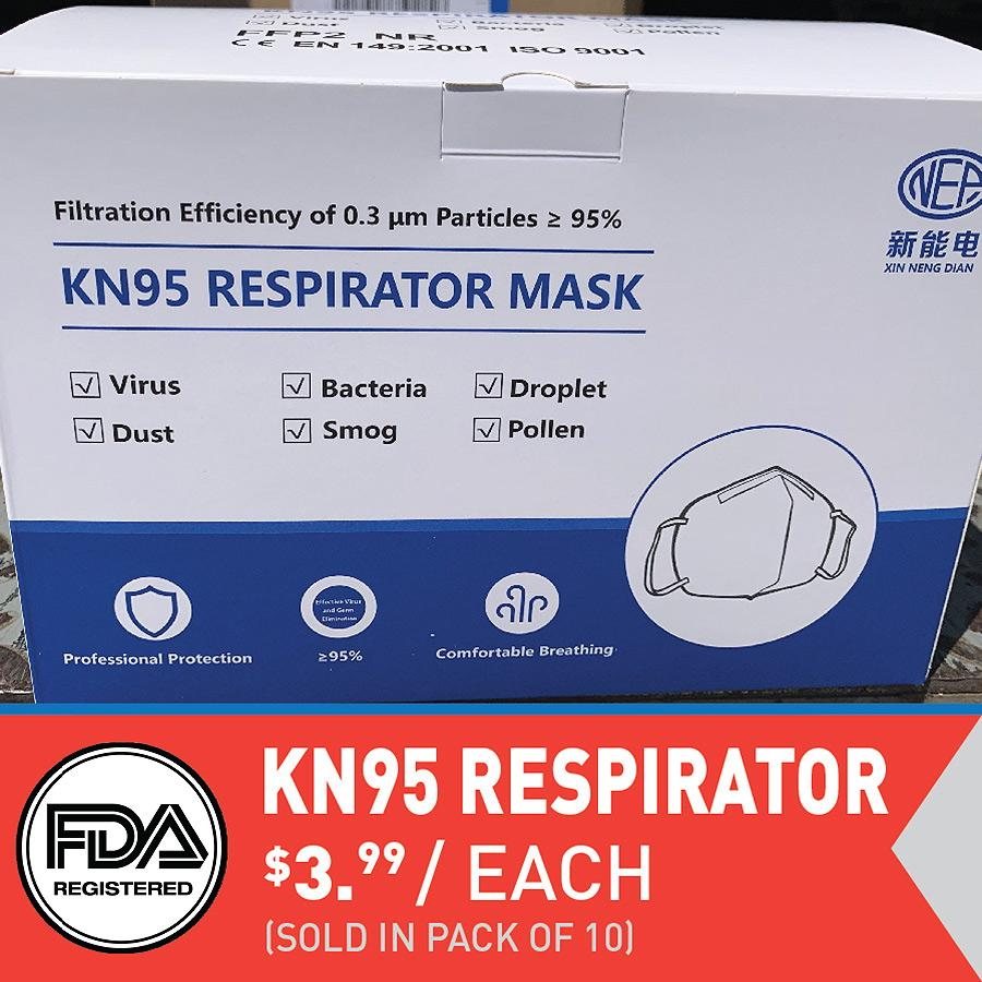 KN95 Respirator Mask (IN STOCK)