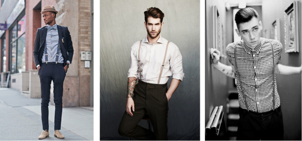 827fc380b172 ... some basic guidelines still apply, so read on for tips on how to avoid  any suspenders faux-pas, and how to always be on point with your suspenders  game.