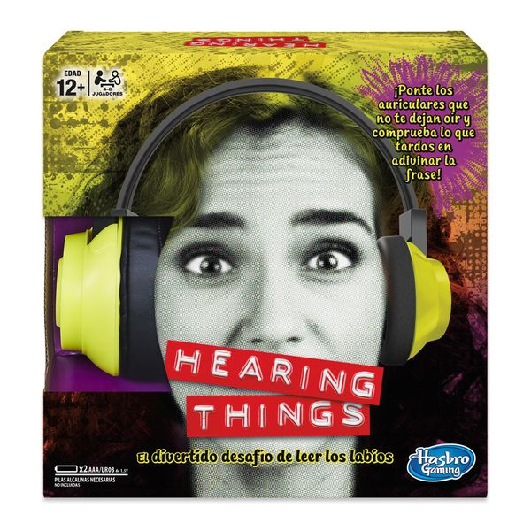 Hearing Things Hasbro