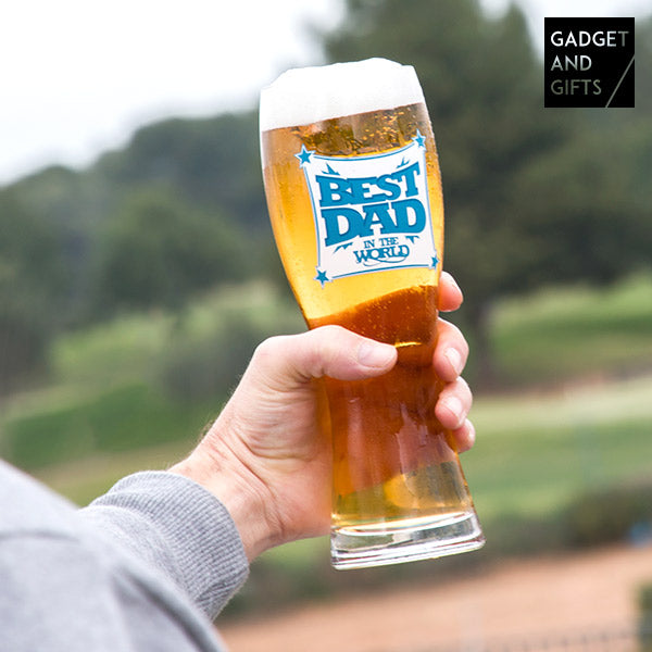 Bicchiere da Birra Best Dad Gadget and Gifts