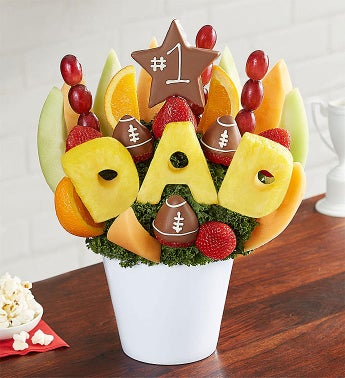 All Star Dad Football Fruit Bouquet