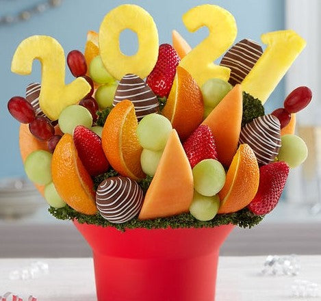 Cheers to the New Year Fruit Bouquet