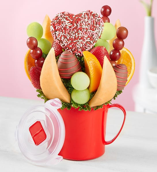 For My Valentine Fruit Bouquet
