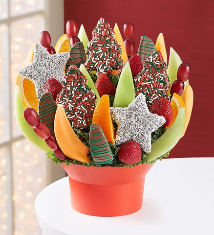 Holiday Spirit Fruit Bouquet