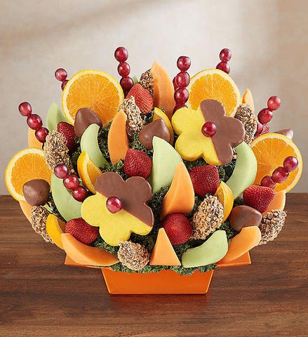 Abundant Fruit and Chocolate Tray
