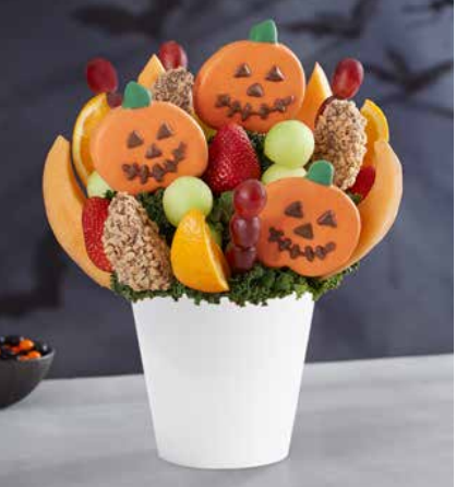 No Tricks, Only Sweets Fruit Bouquet
