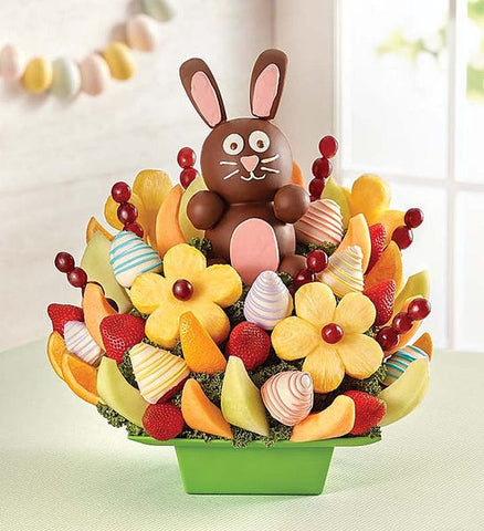 Sweet Bunny Fruit Bouquet