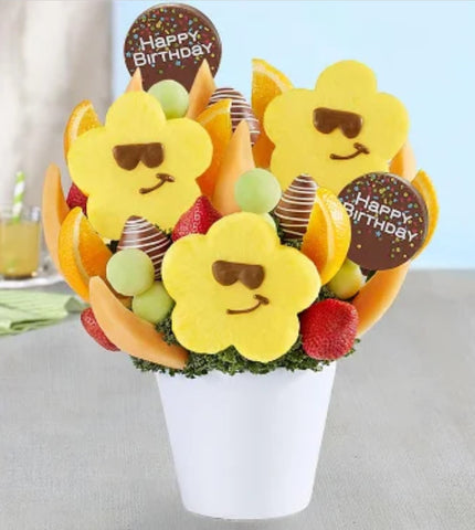 Sizzling Sweet Treats Birthday Bouquet