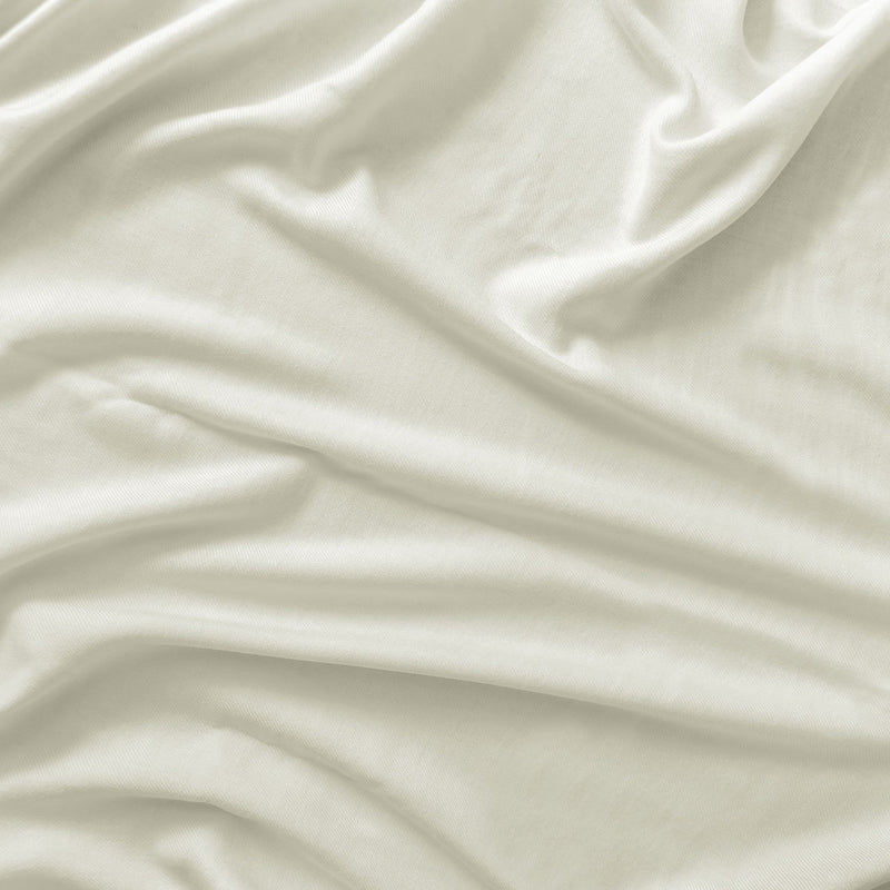 Luxurious Ivory Bed Sheet