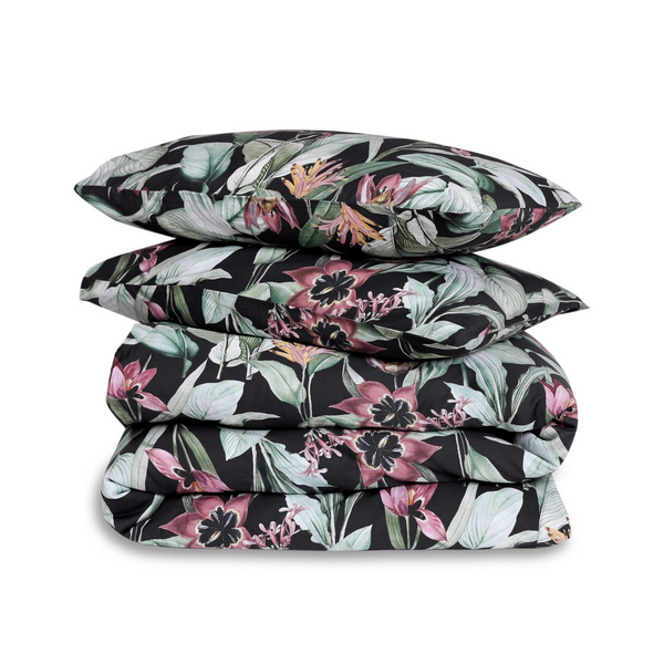 Digitally Printed Cotton Floral Duvet Cover Set
