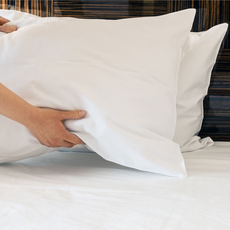 Cool To The Touch White Pillow Case