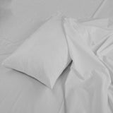 Grey Fitted Sheet with Pillow